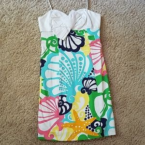 Lilly Pulitzer Dresses - Lilly Pulitzer Size 0 Strapless Dress